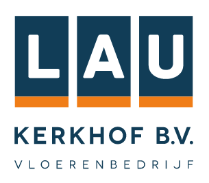 Logo vloerenbedrijf lau kerkhof