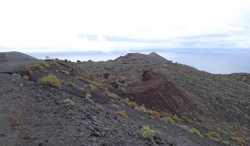 La palma vulkanische zuiden