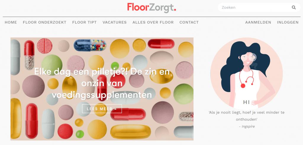 Floorzorgt blog freelance tekstschrijver