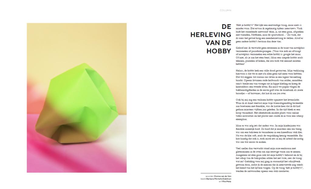 Lfk magazine column
